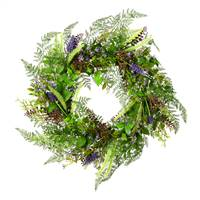"24"" Green Maytime Wreath"