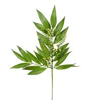"23"" Green Willow White Berries Spray 3/P"