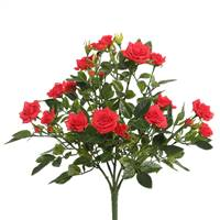 "15"" Red Mini Diamond Rose Bush"