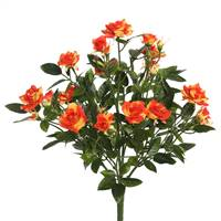 "15"" Orange Mini Diamond Rose Bush"