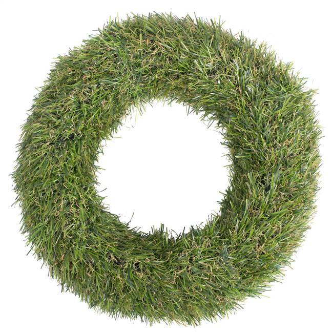 "10"" Green Grass Wreath (2/Pk)"