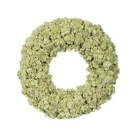 "17.5 "" Reindeer Moss Wreath-Moss Green"