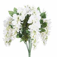 "19 "" Wistera Bush-White"