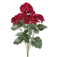 "19.5"" Geranium Bush-Red"