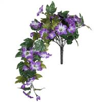 "22"" Purple Petunia Bush"