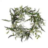 "24"" Green Fern Wreath"