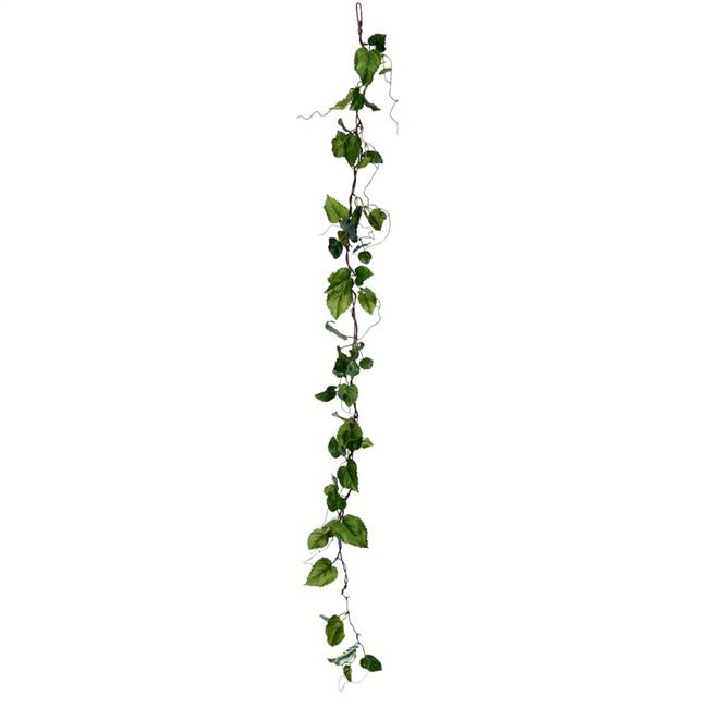 "56"" Green Hop Leaf Garland 2/Pk"