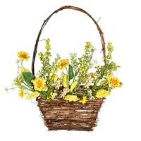 "10"" x 14"" Yellow Sunflower Basket"