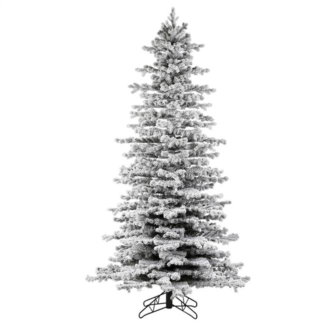 "10' x 60"" Flocked Tilden Spruce 4316T"
