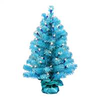 "2' x 16"" Sky Blue Tinsel Dura-Lit 50CL"