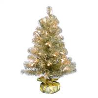 "2' x 16"" Champagne Tinsel Dura-Lit 50CL"