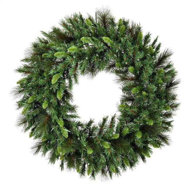 "42"" Bangor Mix Pine Wreath Dura-Lt 200CL"