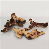 39Lb Natural Petrified Driftwood +/-15Pc