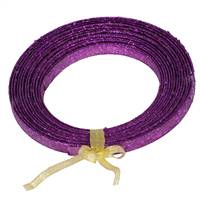 23' X 1/2'' Purple Glitter  Ribbon