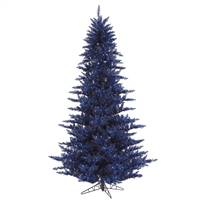"9'x64"" Navy Blue Fir Tree 2326T"