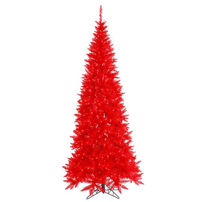 "5.5'x30"" Red Slim Fir DL LED 300Rd 722T"