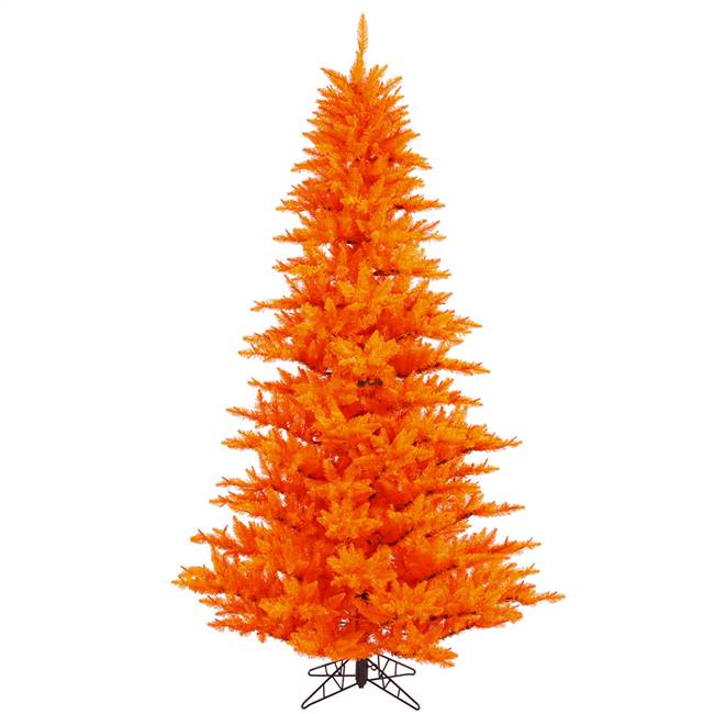 "5.5'x42"" Orange Fir Tree 794T"