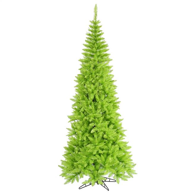 "5.5'x30"" Lime Slim Fir Tree 722T"