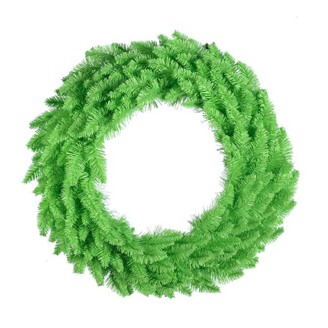 "36"" Lime Wreath DuraL 100Lime 320T"