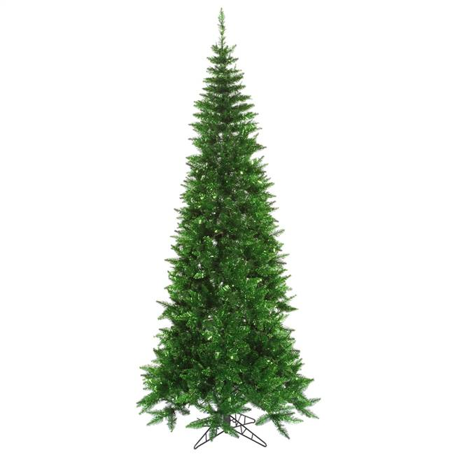 "4.5'x24"" Tinsel Green Slim Fir 400T"