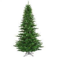 "14'x84"" Tinsel Green Fir Tree 6921T"