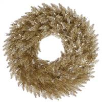 "24"" Champagne Wreath 210T"