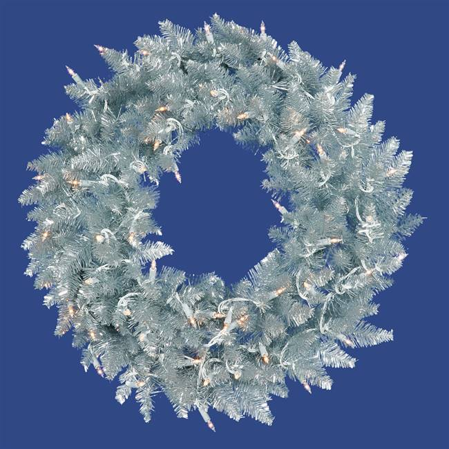 "48"" Silver Fir Wreath DuraL 150CL"