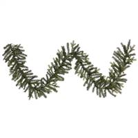 "9' x 14"" Oak Frasier Fir Garland 320Tips"