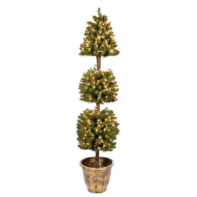 5' Tifton 3 Ball Topiary DuraLit 300CL