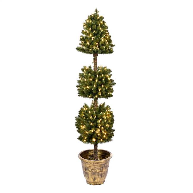 5' Tifton 3 Ball Topiary DuraLit 300WW