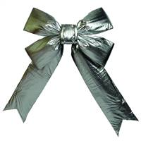 "12"" x 15"" Silver Indoor Bow 3.5""Size"
