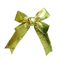 "12"" x 15"" Gold Indoor Bow 3.5""Size"