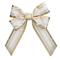 "24"" Champagne Bow Outdoor"
