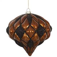 "5.7"" Copper-Blk Matte-Glit Diamond Onion"