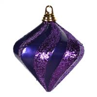 6'' Purple Candy Glitter Swirl Diamond