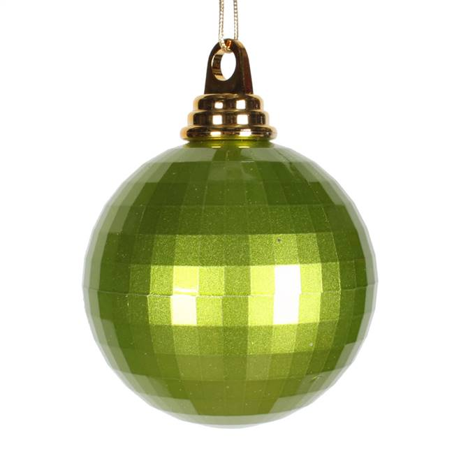 4'' Lime Candy Mirror Ball 1/Bag