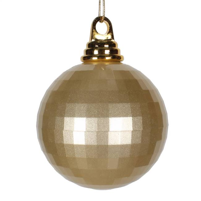 4'' Champagne Candy Mirror Ball 1/Bag