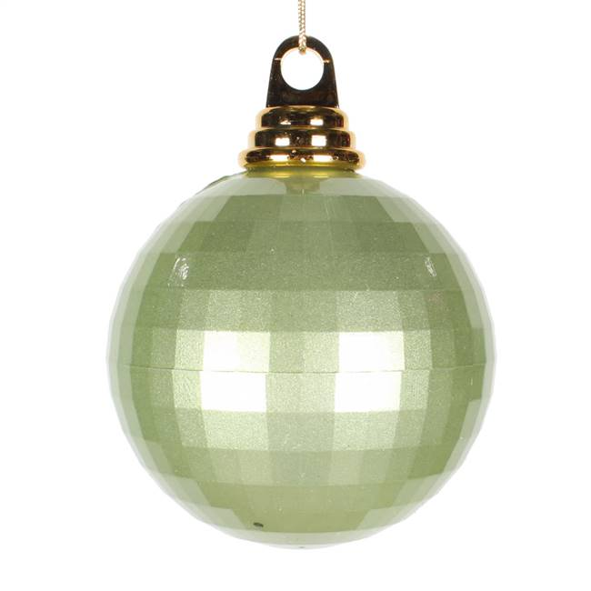 4'' Celadon Candy Mirror Ball 1/Bag