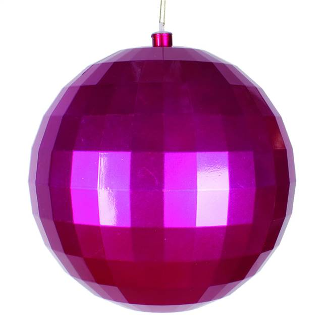 10'' Cerise Candy Mirror Ball 1/Bag