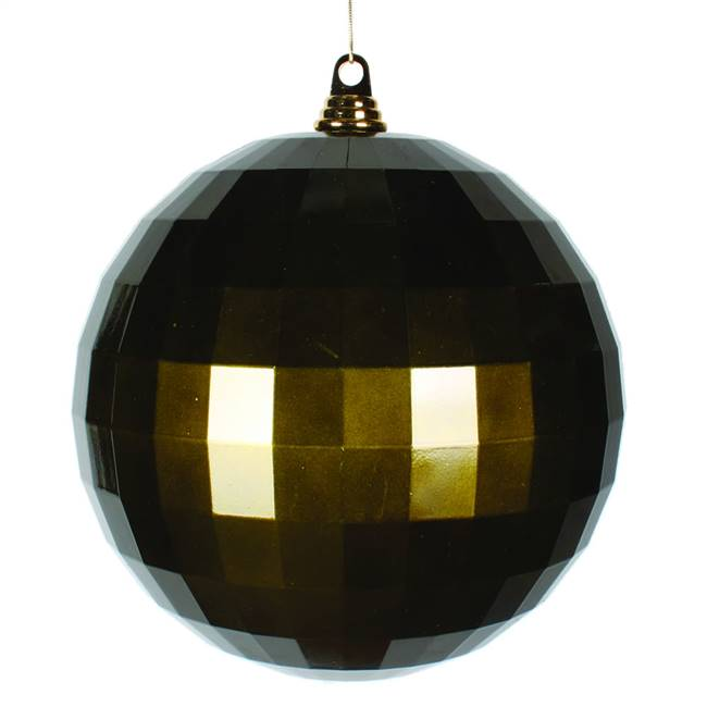 10'' Olive Candy Mirror Ball 1/Bag