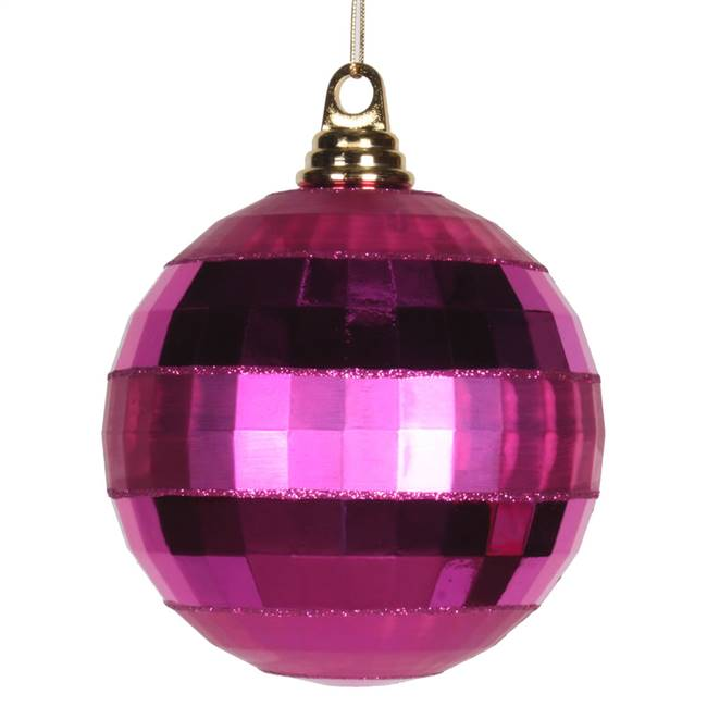 "5.5"" Orchid Shiny-Matte Mirror Ball"