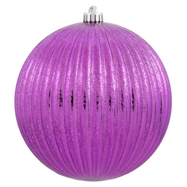 "10"" Cerise Mercury Pumpkin Ball 1/Bg"