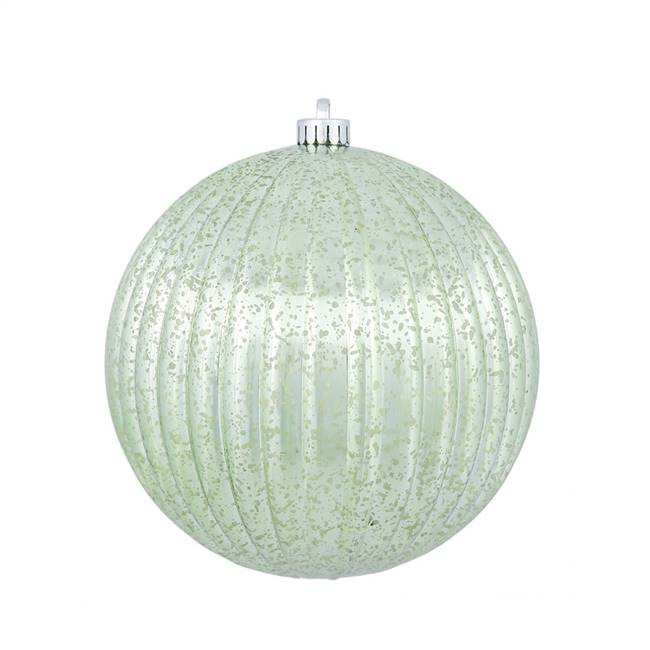"10"" Celadon Mercury Pumpkin Ball 1/Bg"