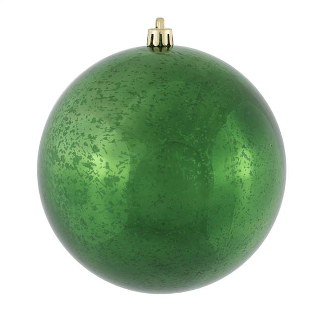 "4.75""  Emerald Shiny Mercury Ball 4/bag"