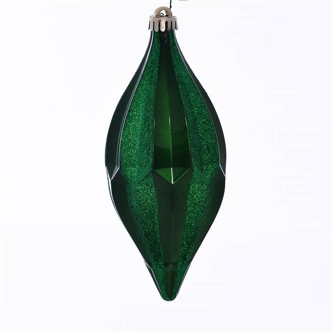 "10"" Green Candy Glitter Shuttle 2/Bag"