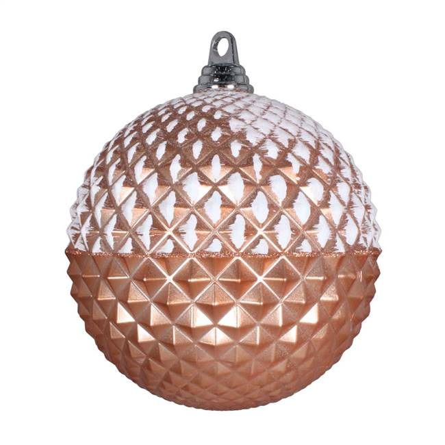 "10"" Rose Gold Glitter Candy Durian Ball"