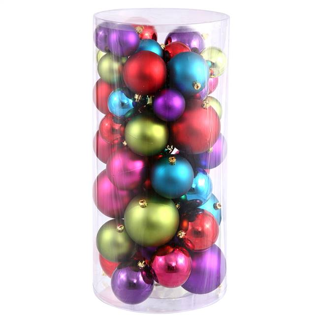"1.5""-2"" Multi Balls Shiny/Matte 50/Box"