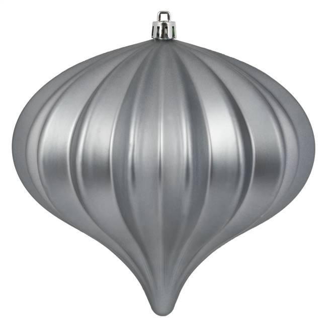 "5.7"" Pewter Matte Onion UV 3/Bag"