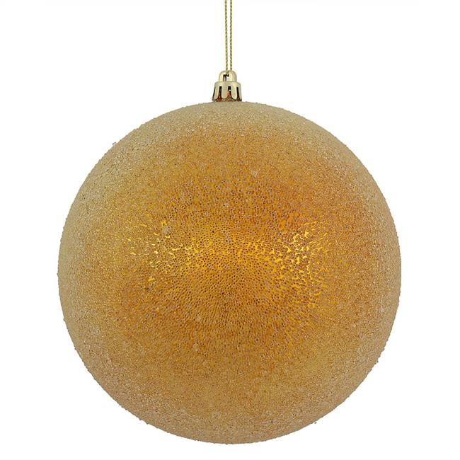 "6"" Anti Gold Iced Ball 3/Bx"