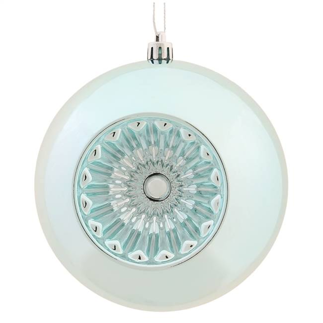 "4.75"" Baby Blue Shy Star Brite Ball 4/Bg"